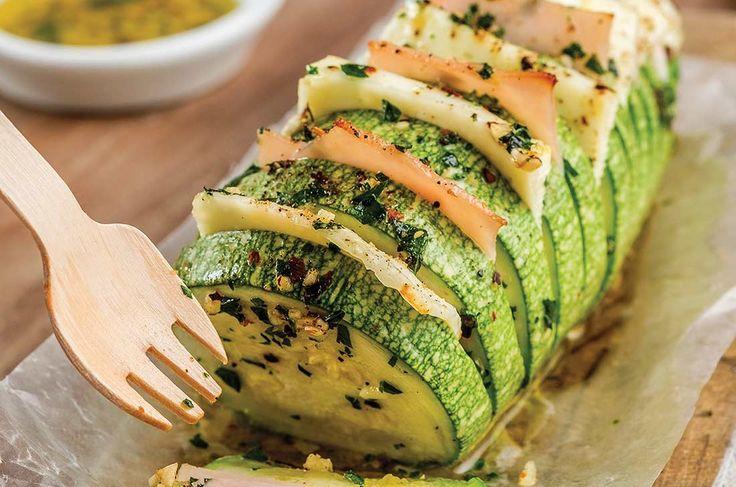 Calabaza horneada con jamón de pavo - Cocina Vital