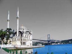 Ortakoy - Mecidiye Mosque & Bosphorus Bridge by Carabul, via Flickr