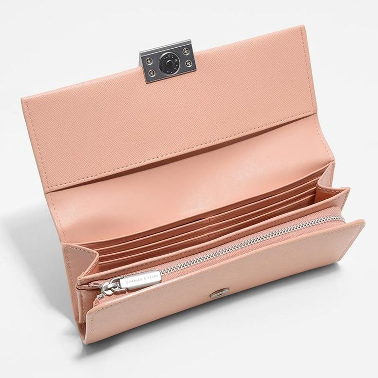 Classic Marble Clasp Wallet | CHARLES & KEITH