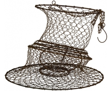 17 best images about weir and fish traps on pinterest for Fish wire basket