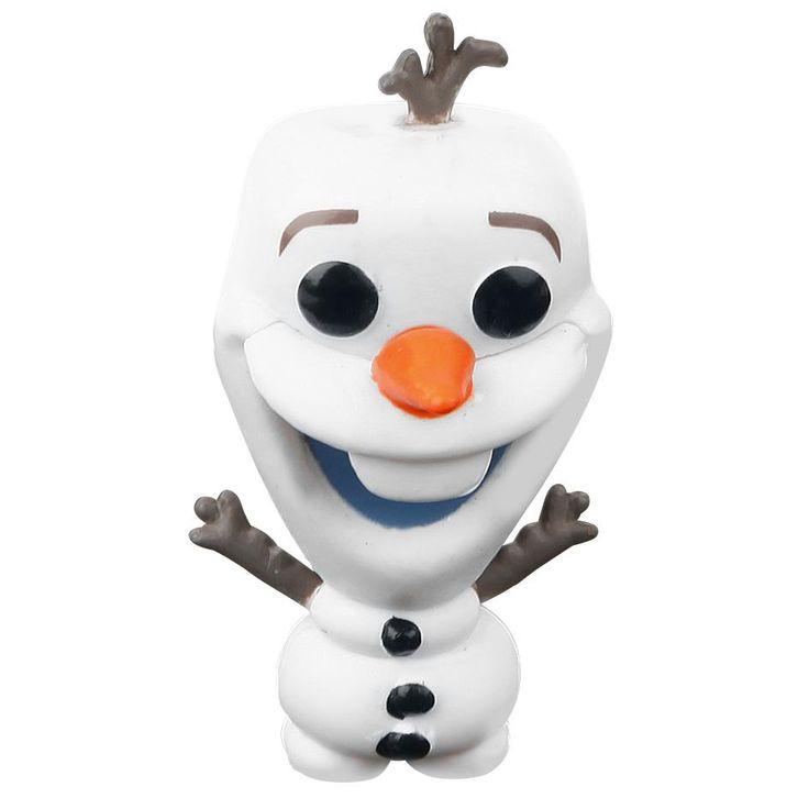 Statuetta decorativa Olaf di #Frozen del brand Funko collezione Pop!. Altezza: 9 cm circa. Sulla scrivania, in auto o su una mensola in bagno. Non importa dove, scegli il luogo perfetto per il tuo Funko! La statuetta viene consegnata in una speciale scatola con finestra trasparente che ne mostra l'interno.