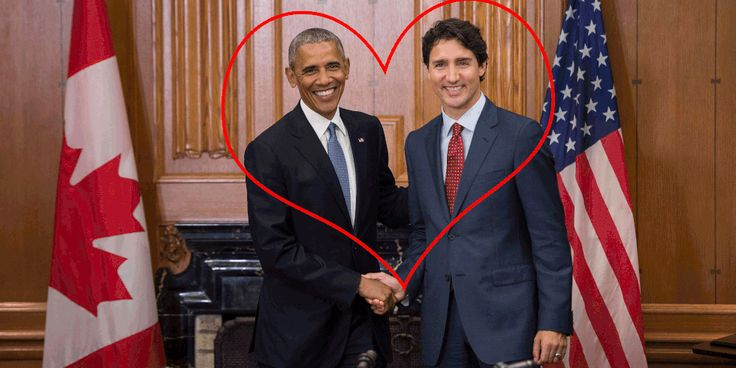The Ultimate Bromance: Barack Obama and Justin Trudeau - Barack Obama and Justin Trudeau Are Too Cute Together