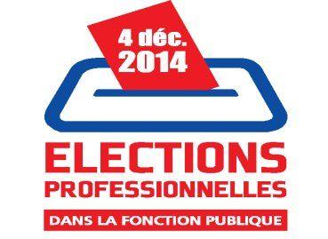 Résultats des élections professionnelles pour les comités techniques dans la fonction publique en 2014