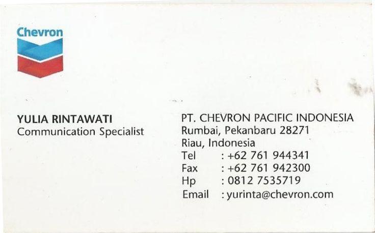 PT. Chevron Pacific Indonesia