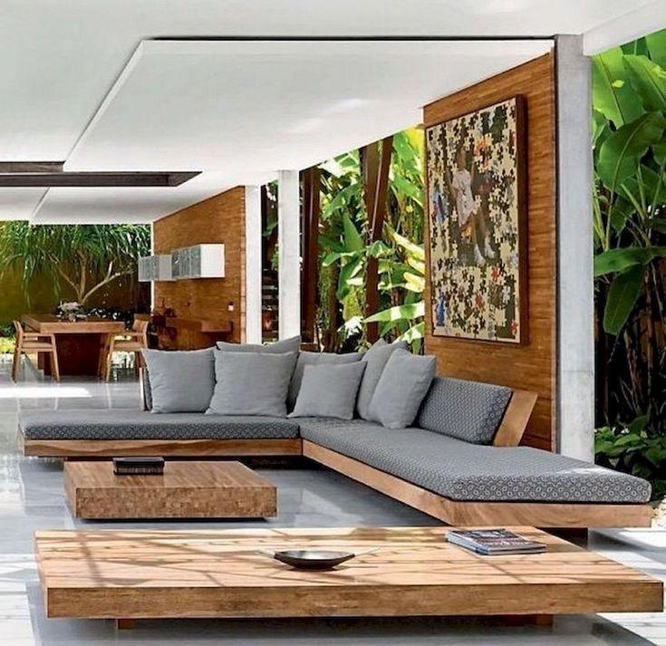 83+ Atemberaubende stilvolle Außenwohnzimmer-Ideen zur Erweiterung Ihres Wohnraums