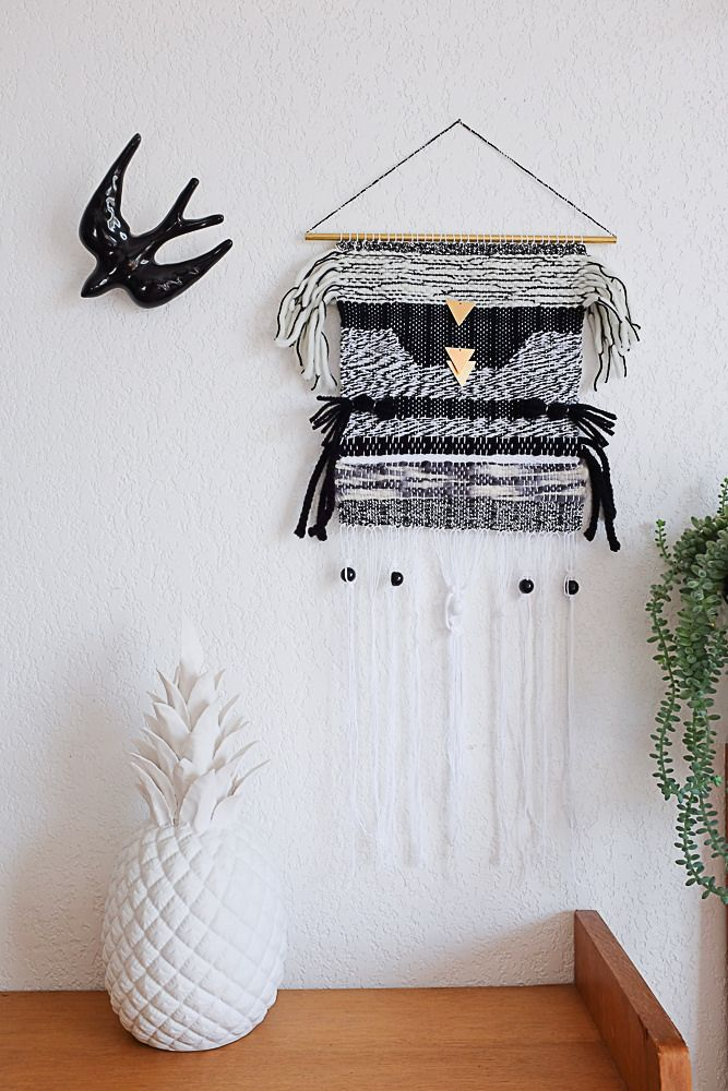 164 best images about tissage on pinterest macrame paris and wall hangings. Black Bedroom Furniture Sets. Home Design Ideas
