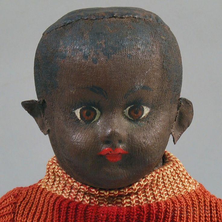 Ella Smith Black Alabama Baby Doll   Sale Number 2677M, Lot Number 42   Skinner Auctioneers