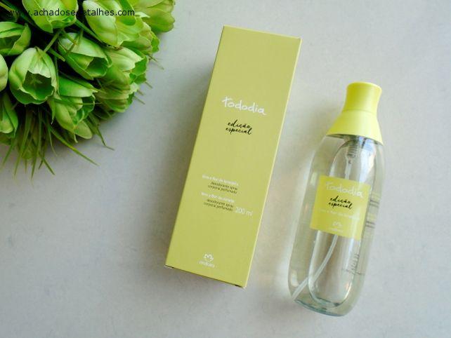 Desodorante Colonia Spray Corporal Perfumado Lima E Flor De