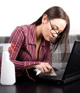 A számítógépek tisztítása