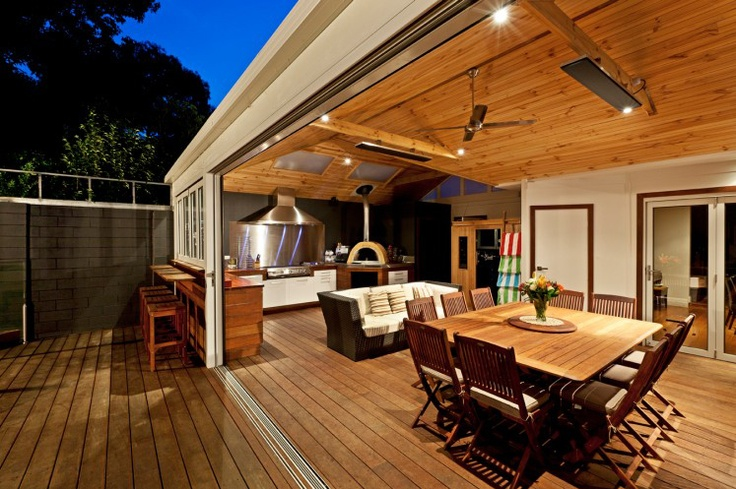 The Tuscany | Alfresco Timber Decking, Decks Melbourne Design, Construction | Pergolas R Us