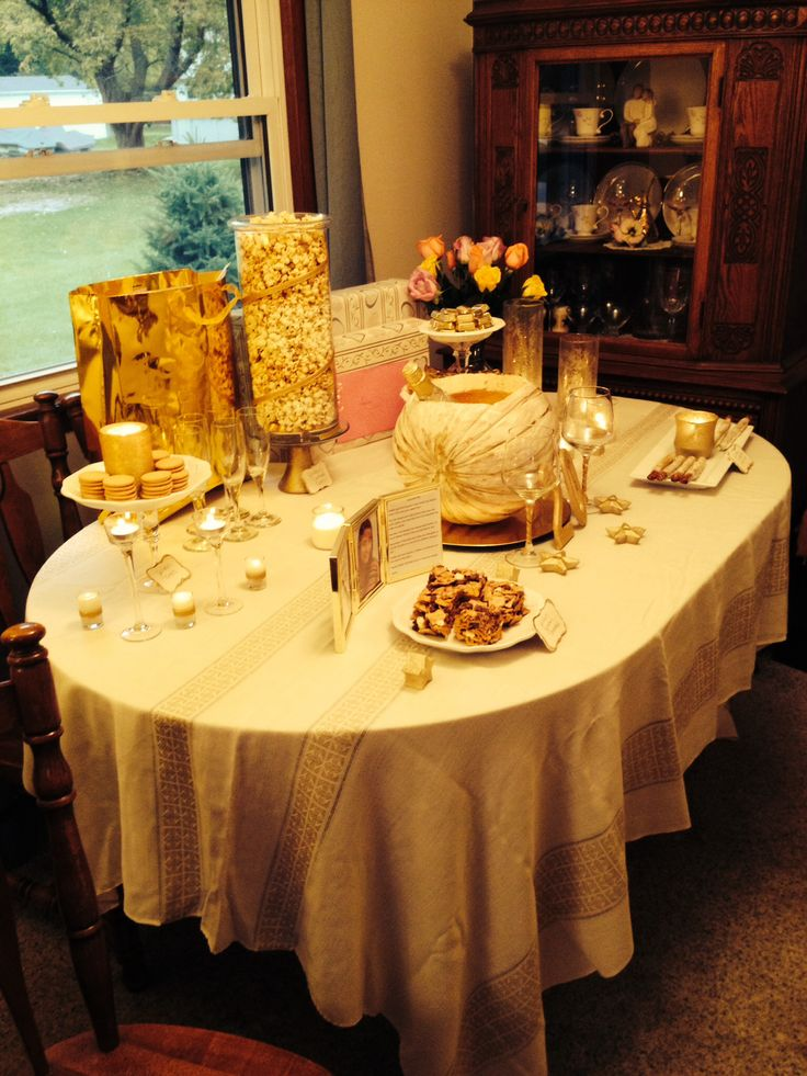 17 Best images about golden b-day/anniversary ideas on ...