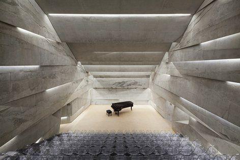 Sala de conciertos Blaibach, Blaibach, 2014 - Peter Haimerl Architektur