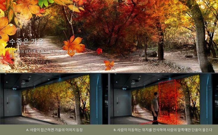 CHINA ZHENGZHOU LIBRARY MEDIA WALL 중국 정주 도서관 미디어 월