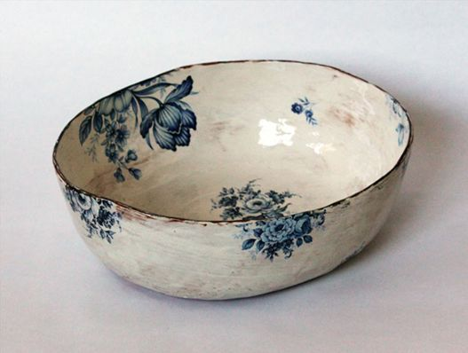 I. LOVE. THIS.Ceramics Pottery, Dishes, Maria Kristofersson, Things, Blue Flower, Mariakristofersson, Vintage Finding, Bowls, White Kitchens
