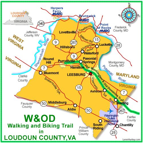 101 best great bike trails images on pinterest bike trails lets take a bike ride on the wod trail in loudoun county you can see sciox Gallery