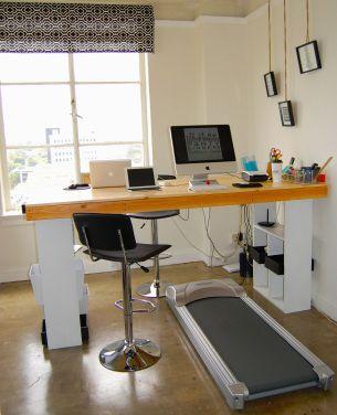 diy treadmill desk standing desk 2 home office
