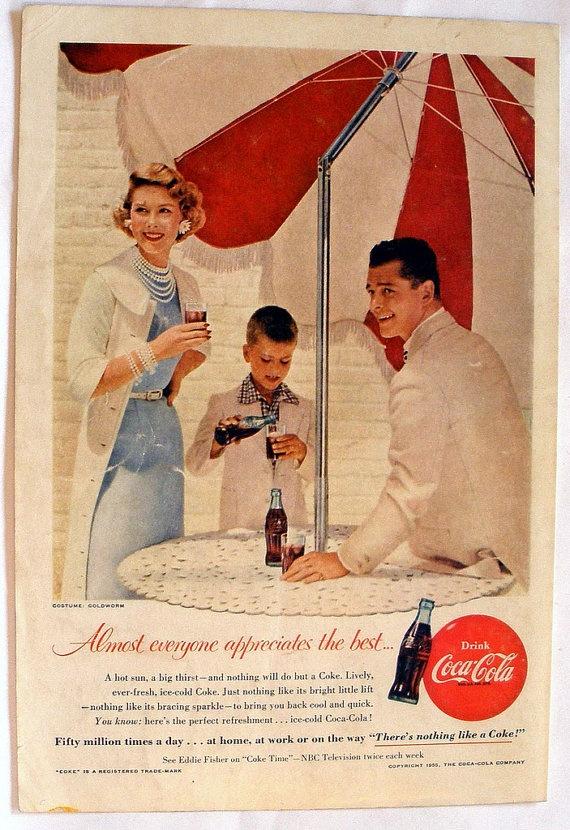 Umbrella Table. Coke AdCoca Cola ...