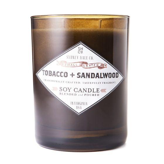 Tobacco + Sandalwood Candle | Huckberry