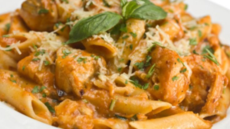 """Featured on Oprah, Rachael Ray's famous """"You Won't Be Single For Long"""" Pasta has become a sensation. Save this decadent dish for special occasions, and try Rachael's updated, healthier version for weeknight dinners. Get her """"Now You'll Be Living A Lot Longer"""" Spaghetti recipe here."""