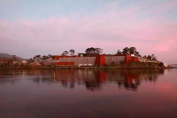 The Museum of Old and New Art (MONA) is located on the island of Tasmania, and is the largest privately funded museum in Australia. The evolving exhibit features contemporary works and modern art.