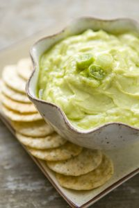 Green Goddess Cucumber Dip - serve with veggies or paleo crackers