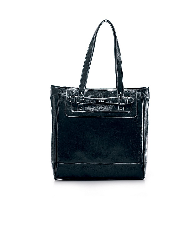 Just goes perfect with my wardrobe.Nine & Co.: Straight Ahead Tote Bag (available in brown and black)