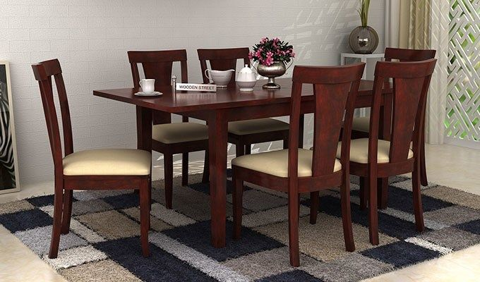 Discover Trendy Dining Table Designs At Woodenstreet Latest