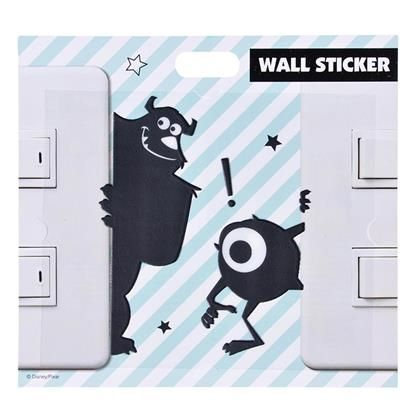 【ディズニーストア】ウォールステッカー サリーマイク | プレゼント・ギフトの通販・販売ならDisneystore