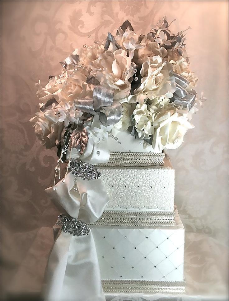 Diamond Wedding Card Box Card Holder Reception