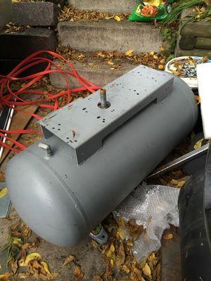 Air compressor tank. Good Solid tank no holes