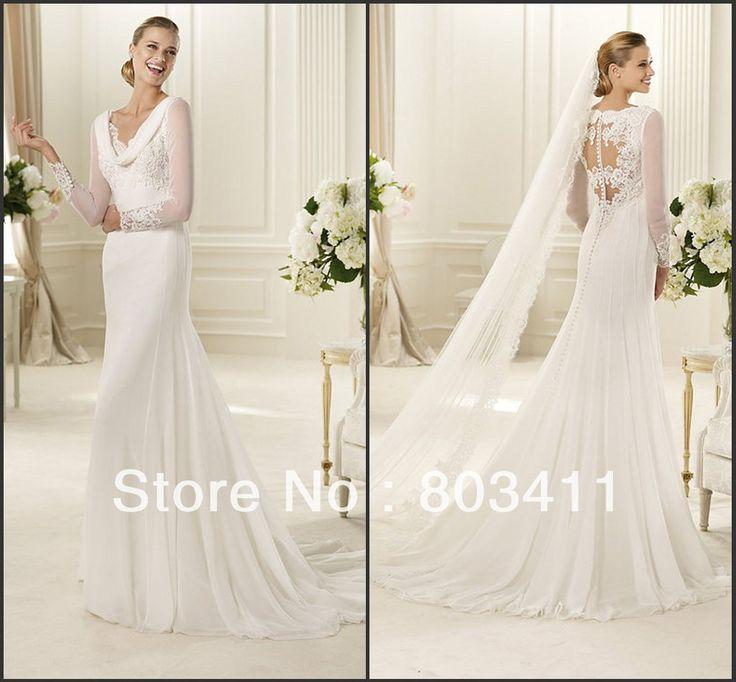 Cowl Neck Wedding Dress: Top 25+ Best Cowl Wedding Dress Ideas On Pinterest