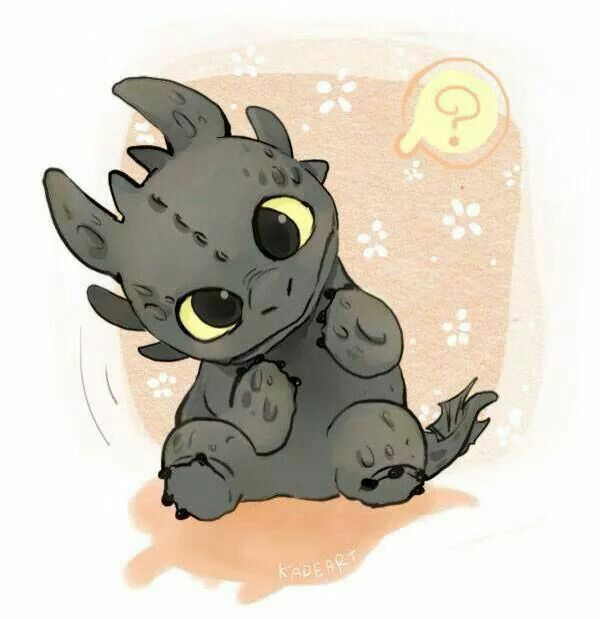 Toothless baby