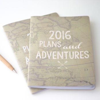 Plans And Adventures Notebook – Little Pieces
