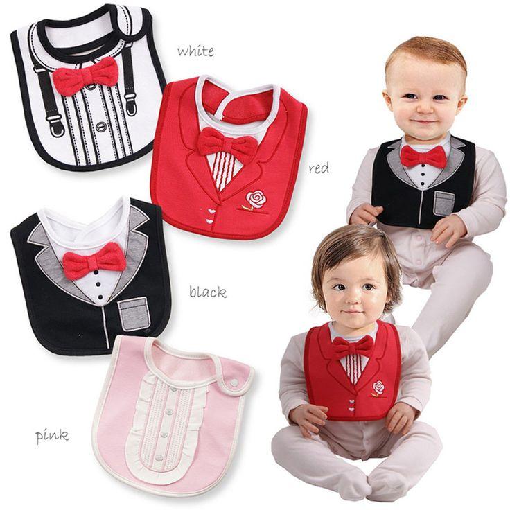Детские веселые 3 слоя водонепроницаемый детские шутки шутки нагрудники декор новорожденных ужин шалости розыгрыши новый год костюм для ребенка купить на AliExpress