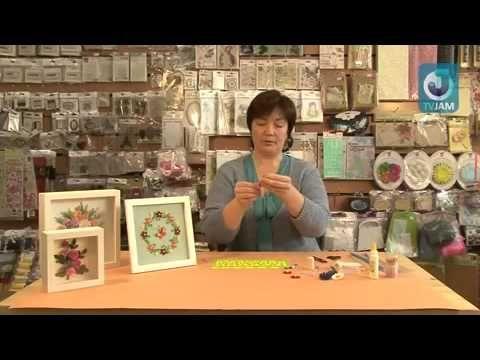 Видео-урок - Мастер-класс по квиллингу - Все о рукоделии. Техники, уроки, история, видео.