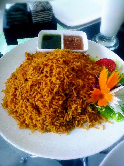 Tomato rice/ Basmalah restaurant basmalah