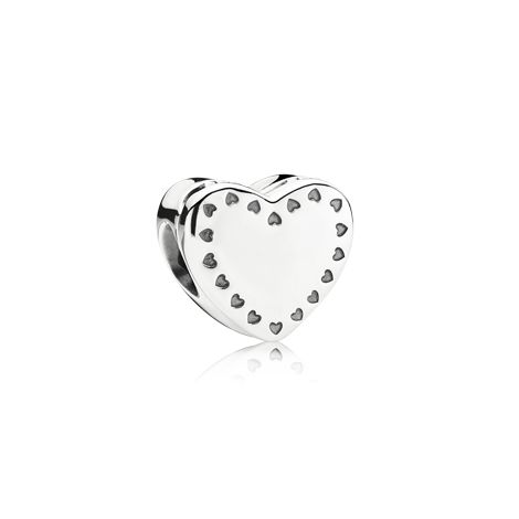 Love Bonds Openwork charm (THE OFFICIAL BRITISH HEART FOUNDATION CHARM) - 791250CZ - Charms | PANDORA