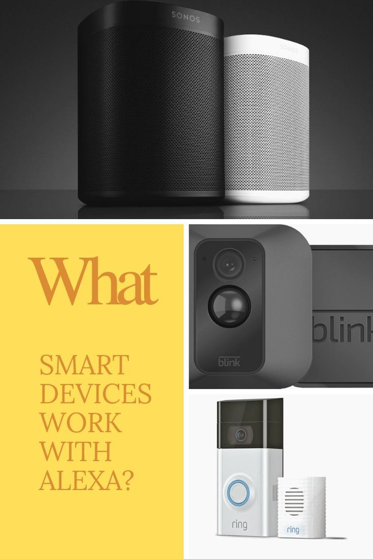 What Smart Devices Work With Alexa Casa Inteligente Familia