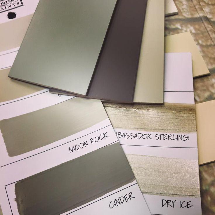 Love this colour scheme from Porter's Paints