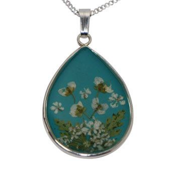 Real Leaf Silver Necklaces - Unique Australian Gifts for Women – Bits of Australia