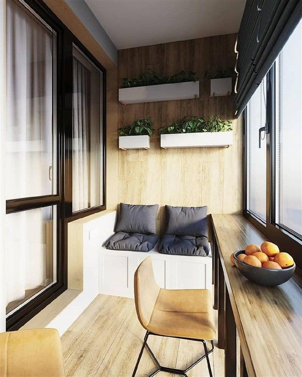 47 Turning Small Balcony Into Home Office Ideas In 2020