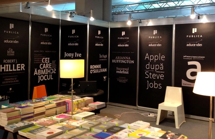 Standul Publica la târgul de carte Gaudeamus. #bookfair #stand #carte #editurapublica