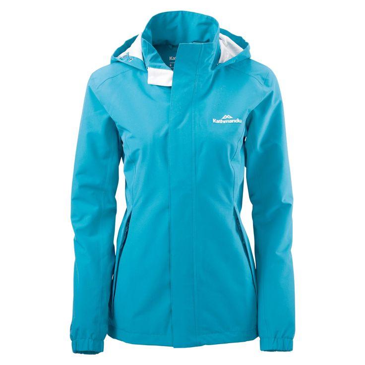 Buy Andulo Women's 2 Layer Waterproof Jacket - Blue Lagoon online at Kathmandu