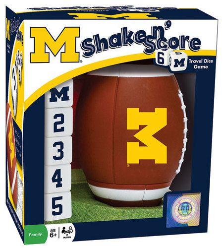 Michigan Shake N' Score, $19.95