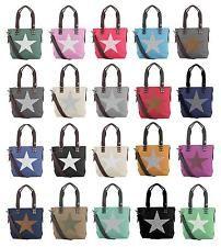 Marque a sus amigos para que puedan verlo. Señora estrella bolso xxl Shopper Bolso canvas bandolera bandolera: 27,95 EUREnd Date: 17-sep…