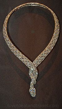 Cartier Paris, Serpent Necklace, c.1919. This belonged to Luci. She gave it to me on my 21st birthday.