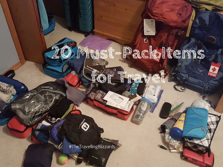 20 Must-Pack Items for Budget Travel