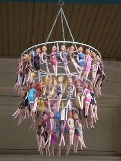 Barbie lamp
