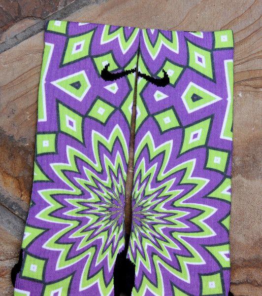 Optical Illusion Elites | Custom Elites socks