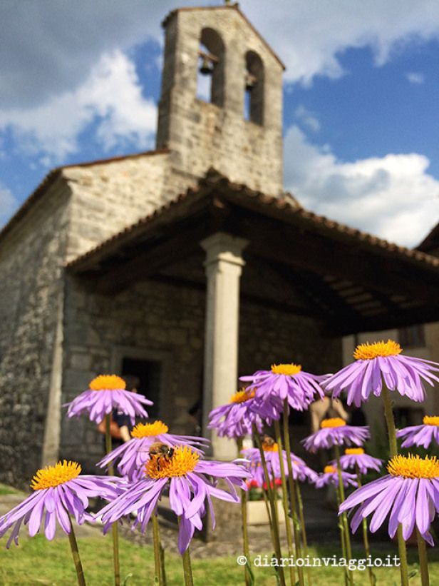 In Valli del Natisone, in North-East Italy, in Friuli Venezia Giulia you can find many ancient little churches built in the past by local populations with slovenian influences. They have been restorated by local population.